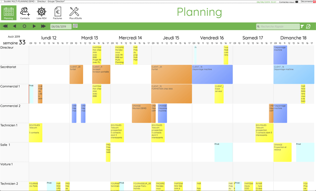 Calendrier Partage En Ligne.Multi Planning Agenda Partage En Ligne Simplifiez Le