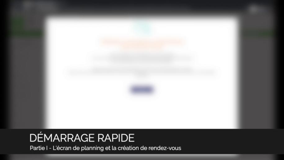 Guide Vidéo - Démarrage rapide 1