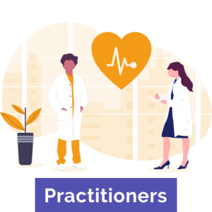 Online booking system for Practitioners